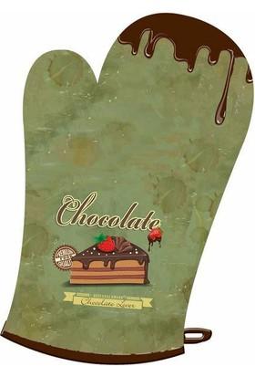 Maison M MAS497 Chocolate Loves Desen Eldiven