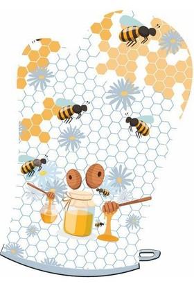 Maison M MAS1040 Honey Desen Eldiven