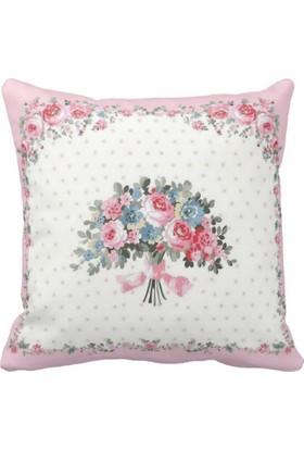 Maison M MAS365 Pink Dream 2 Dekoratif Kırlent - 41X41 cm