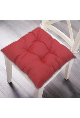 Maison M MAS6000 Kırmızı Dekoratif Minder -41x41 cm