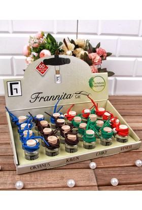 Frannita Dört Farklı Çeşitli 8 Cc Frannita Oto Kokusu Seti (24'lü)