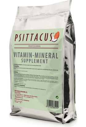 Psittacus Vitamin-Mineral Supplement 350 Gr Papağan Yemi Ve Takviyesi