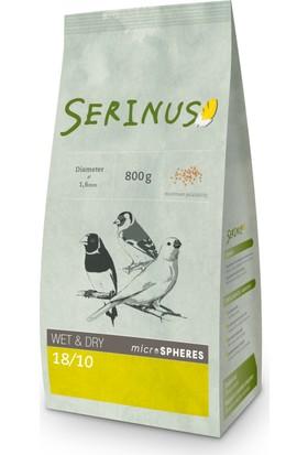 Serinus Wet & Dry Microspheres 18/10 800 Gr Kanarya Yemi