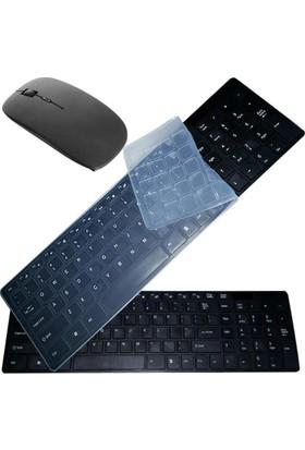 Gringo Kablosuz Klavye Mouse Seti Q Multimedia Klavye 2.4Ghz Tv Uyumlu