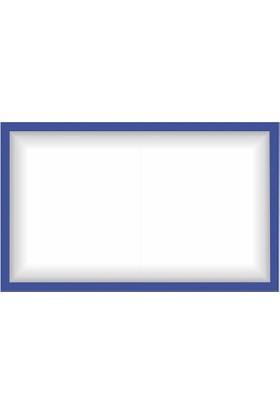 Kokita Mavi Kokulu Taş Panosu (Çerçevesi) - 50 x 30 Cm