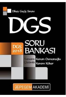 2018 Dgs Tamamı Çözümlü Soru Bankası - Kenan Osmanoğlu