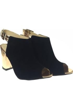Altuğ 4513 Kadın Klasik Topuk Ayakkabı