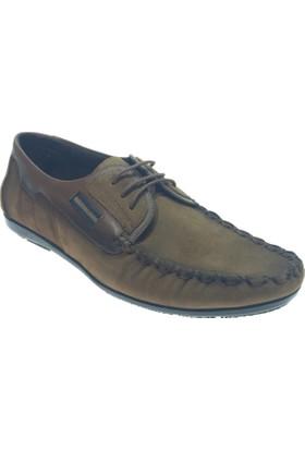 Turuncu 1662 Günlük Deri Erkek Ayakkabı