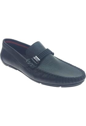 Turuncu 1702 Günlük Deri Erkek Ayakkabı