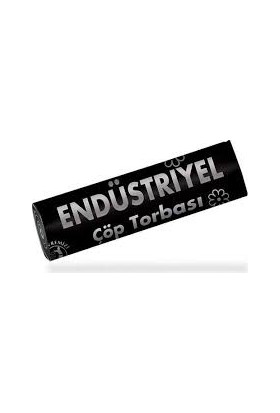 Koroplast Çöp Torbası Eko Endüstriyel Orta Boy Siyah 55 cm x 60 cm