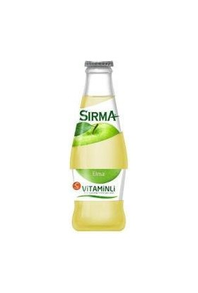 Sırma Soda C-Plus Elma 200 ml 24'lü Paket