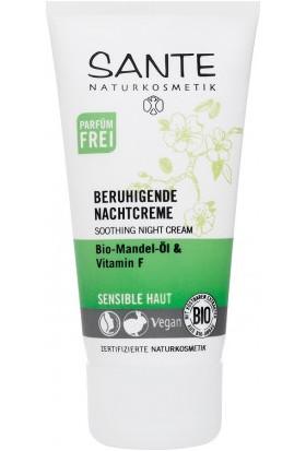 Sante Organik Badem Yağı & F Vitaminli Yatıştırıcı Gece Kremi 50 Ml.