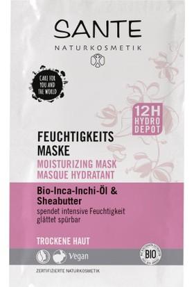 Sante Organik Inca Inci Yağı & Shea Butter Özlü Nemlendirici Maske 2X4 Ml.