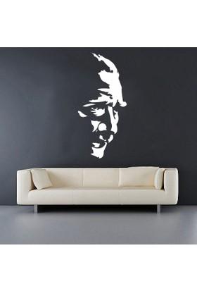 Freya G. M. K. Atatürk Silüeti Duvar Stickerı