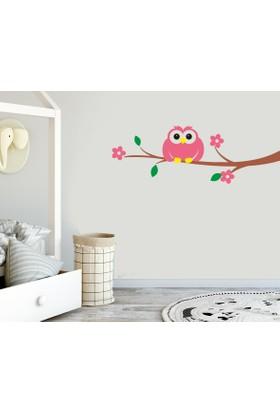 Freya Daldaki Baykuş Duvar Stickerı