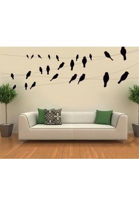 Freya Teldeki Kuşlar Duvar Stickerı