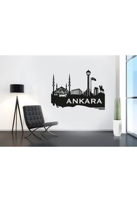Freya Ankara Manzarası Duvar Stickerı