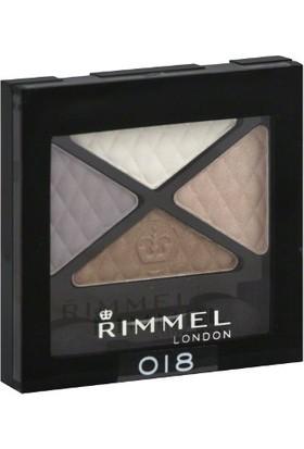 Rimmel London Romantic Cool 018 - Işıltılı 4 Farklı Renk Göz Farı