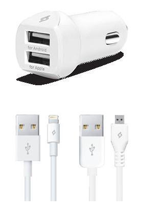 Ttec SpeedCharger Çakmak Şarj Cihazı Çift USB 3.1A (Universal) 2CKS02
