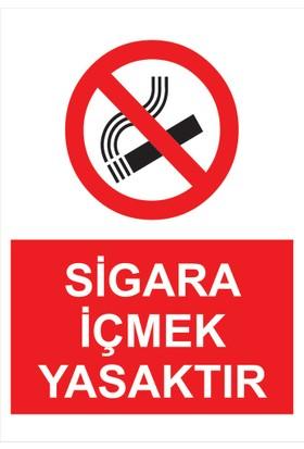 Oracal Sigara İçmek Yasaktır(35*50Cm)