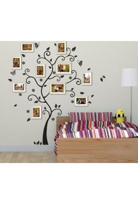 DekorLoft Aile Soy Ağacı Fotoğraf Albümü Duvar Sticker XL DS-174