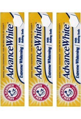 Arm Hammer Advance White 3'lü 75 ml