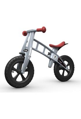 FirstBIKE Cross Gri Çocuk Denge Bisikleti - Frensiz