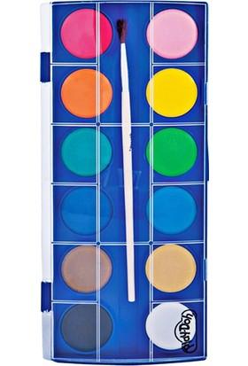 Play Doh 12 Renk Büyük Suluboya