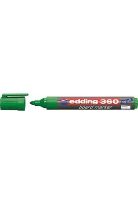 Edding 360 Beyaz Tahta Kalemi Yeşil