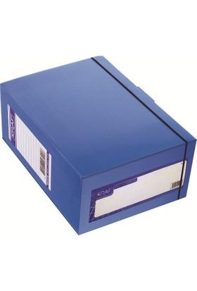 Kraf Arşiv Kutusu A4 1000 Sayfa-Mavi (900G)