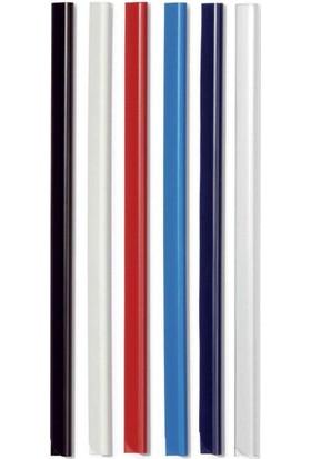 Kraf Profil Oval 8 mm.100'lü Paket Kırmızı