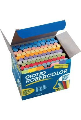Robercolor Tozsuz Tebeşir Renkli 100'lü Paket