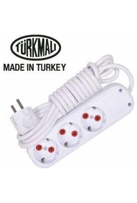 Önder Seyyar Kablo Üçlü 10 Metre