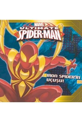 Marvel Ultimate Spider:Man Iron Spider'In Uçuşu!