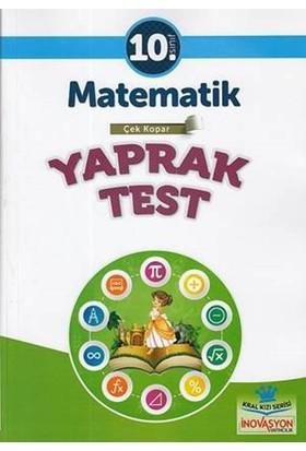 İnovasyon 10. Sınıf Matematik Yaprak Test
