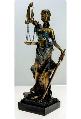 Adalet Heykeli 36 cm.