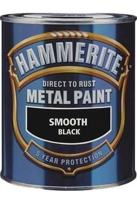 Hammerite Pürüzsüz Boya 3 Kg Siyah