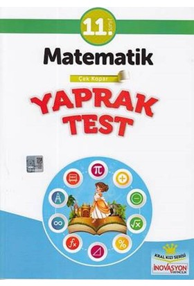 İnovasyon 11. Sınıf Matematik Yaprak Test