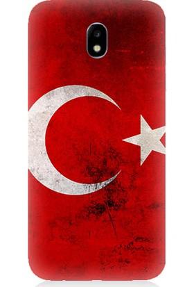 Teknomeg Samsung Galaxy J7 Pro Türkiye Baskılı Silikon Kapak Kılıf