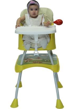 Ninikids Çok Fonksiyonlu Mama Sandalyesi Sarı