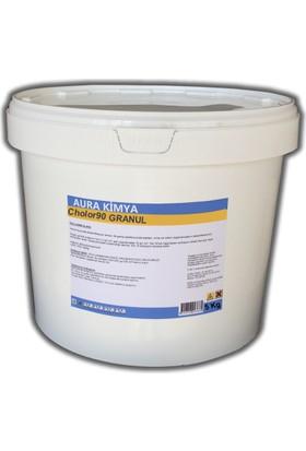 Aura %90 (Granül) Toz Klor (Tri Klor) 5 Kg