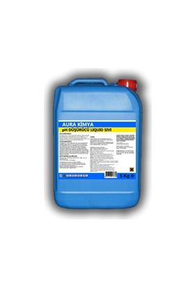 Aura Sıvı pH düşürücü 5 Kg Havuz Kimyasalları