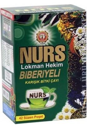 Nurs Lokman Hekim Biberiyeli Karışık Bitki Çayı