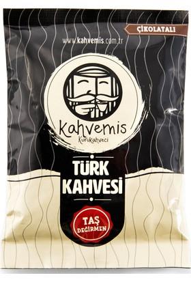 Kahvemis Çikolatalı Türk Kahvesi Orta Kavrulmuş 100 gr Folyo Ambalaj