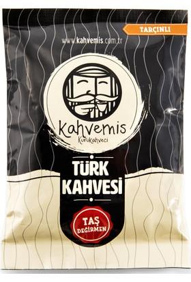 Kahvemis Tarçınlı Türk Kahvesi Orta Kavrulmuş 100 gr Folyo Ambalaj