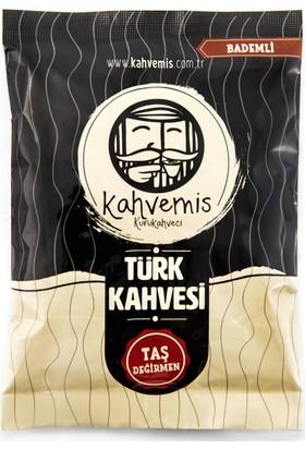 Kahvemis Bademli Türk Kahvesi Orta Kavrulmuş 100 gr Folyo Ambalaj