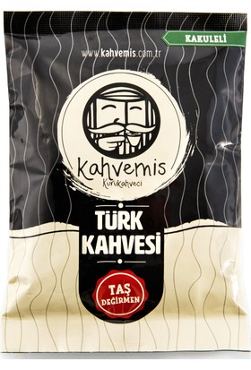 Kahvemis Kakuleli Türk Kahvesi Orta Kavrulmuş 100 gr Folyo Ambalaj