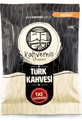 Kahvemis Mesirli Türk Kahvesi Orta Kavrulmuş 100 gr Folyo Ambalaj