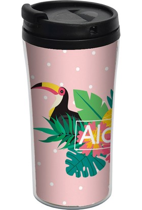 ALLMUG İç-Dış Plastik Termos- Pelican