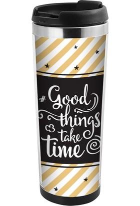 ALLMUG İçi Çelik Renkli Termos-Good Things